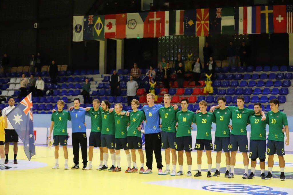 Team Australia lined up