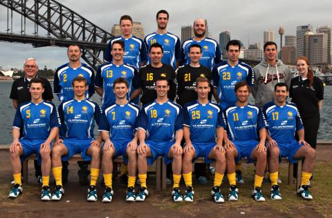 Team photo of Sydney University team
