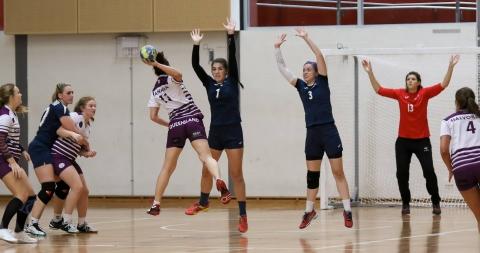 Action shot handball